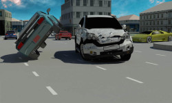 Extreme Car Driving simulator game screenshot 1/4