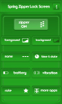Spring Zipper Lock Screen Free screenshot 2/6