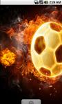 Fire Ball Live Wallpaper screenshot 2/4