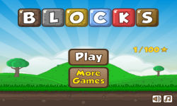 Blocks Game screenshot 1/3