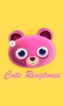 Cute Ringtones App screenshot 1/4