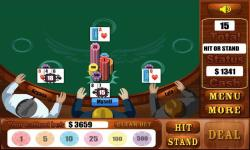 Blackjack Games  Free screenshot 2/4