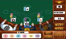 Blackjack Games  Free screenshot 3/4