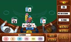 Blackjack Games  Free screenshot 4/4