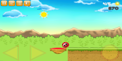 Bounce Along Red Ball screenshot 3/6