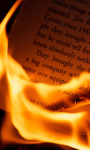 Burning Book Live Wallpaper screenshot 1/3