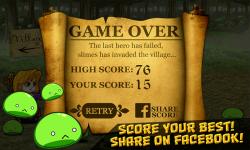 Last Hero: Attack of the Slimes screenshot 4/4