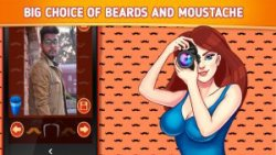 Moustache Photo Editor - Stylish Stickers screenshot 1/1