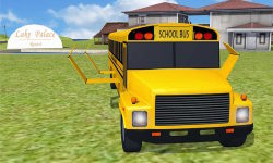 Flying School Bus simulator screenshot 1/3
