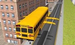 Flying School Bus simulator screenshot 2/3