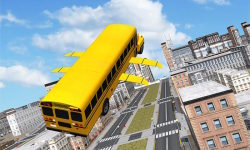 Flying School Bus simulator screenshot 3/3