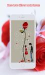 Rose Love Zipper Screen Lock screenshot 2/6