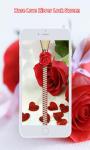 Rose Love Zipper Screen Lock screenshot 3/6