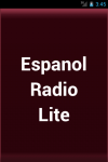 Espanol Radio  Lite screenshot 1/3
