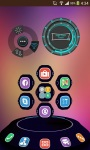 Flat-UI Next Launcher 3D Theme screenshot 2/4