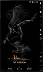 Smoke Demon Live Wallpaper screenshot 2/2