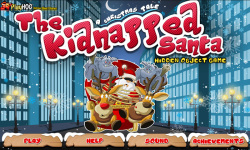 Free Hidden Object Games - The Kidnapped Santa screenshot 1/4