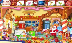 Free Hidden Object Games - The Kidnapped Santa screenshot 3/4