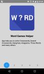 Word Games Helper screenshot 1/5