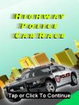 Highway police car race screenshot 1/3