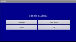 Tiny Sudoku screenshot 1/4