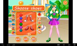 SuperGirl Dress Up screenshot 3/4