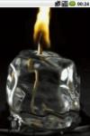 Burning candle by unbeatsoft screenshot 1/2