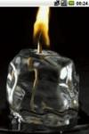 Burning candle by unbeatsoft screenshot 2/2