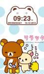 Cute Bear Clock Widget screenshot 1/2