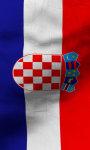 Croatia flag lwp Free screenshot 3/5