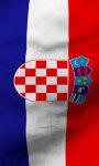 Croatia flag lwp Free screenshot 4/5