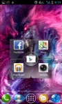 Space Demons Live Wallpaper screenshot 2/3