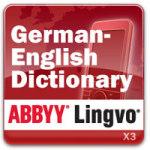 ABBYY Lingvo De-En screenshot 1/1