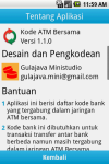 Kode ATM Bersama Indonesia screenshot 6/6
