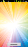 Rainbow Live wallpaper app screenshot 1/2