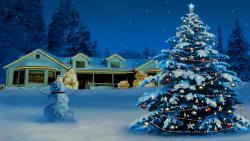 Christmas Tree And Snowman screenshot 1/2
