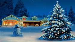 Christmas Tree And Snowman screenshot 2/2