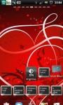 Love Heart Sparkle Live Wallpaper screenshot 1/5