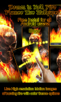 Ghost Rider Fire Flames LWP free screenshot 2/3