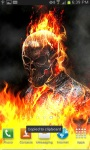 Ghost Rider Fire Flames LWP free screenshot 3/3
