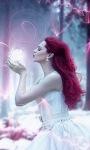 Red Hair Beauty Live Wallpaper screenshot 1/3