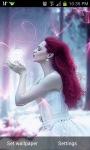 Red Hair Beauty Live Wallpaper screenshot 2/3