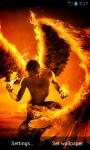 Fire Angel Live Wallpaper screenshot 1/4