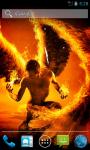 Fire Angel Live Wallpaper screenshot 2/4
