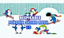 Despicable Penguin Skiing Rush - Cool 3D Run Game screenshot 3/6