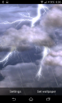 Thunder Lightening Storm Live Wallpaper screenshot 1/4