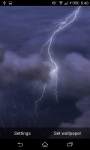 Thunder Lightening Storm Live Wallpaper screenshot 4/4