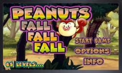 peanuts game- peanuts fall screenshot 1/5