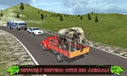 Offroad Transport Zoo Animals screenshot 2/3