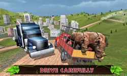 Offroad Transport Zoo Animals screenshot 3/3